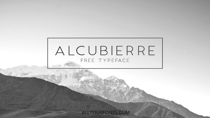 Alcubierre Font Family Free Download