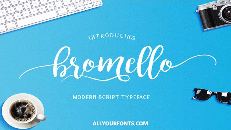 Bromello Font Family Free Download