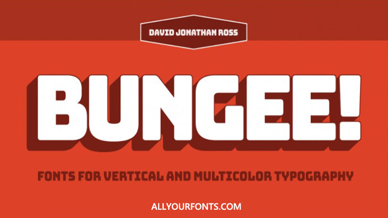 Bungee Font Family Free Download