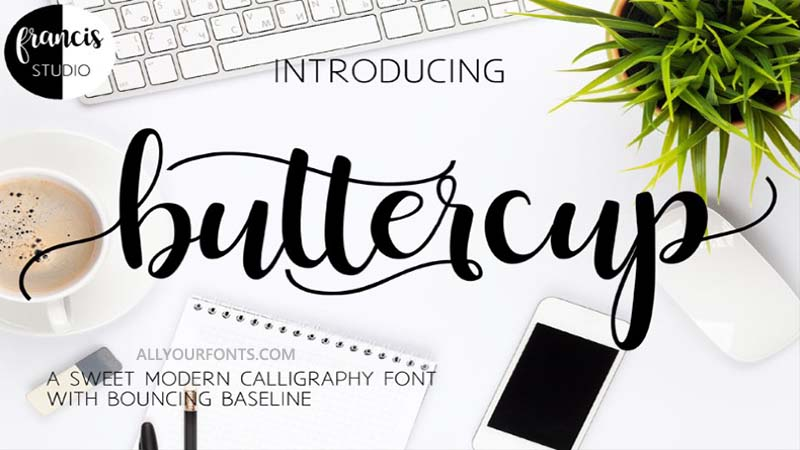 Buttercup Font Family Free Download