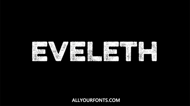 Eveleth Font Family Free Download