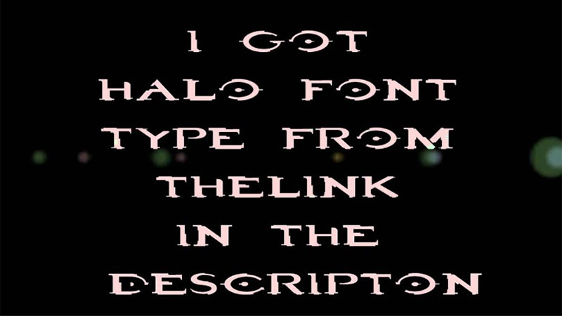 Halo Font Family Download