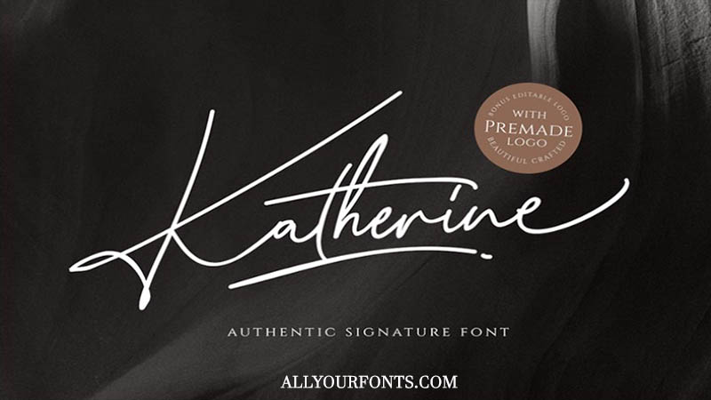 Katherine Font Family Free Download