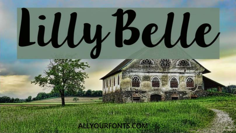 Lilly Belle Font Family Free Download