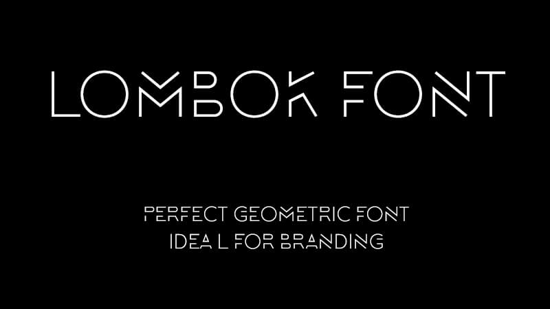 Lombok Font Family Free Download