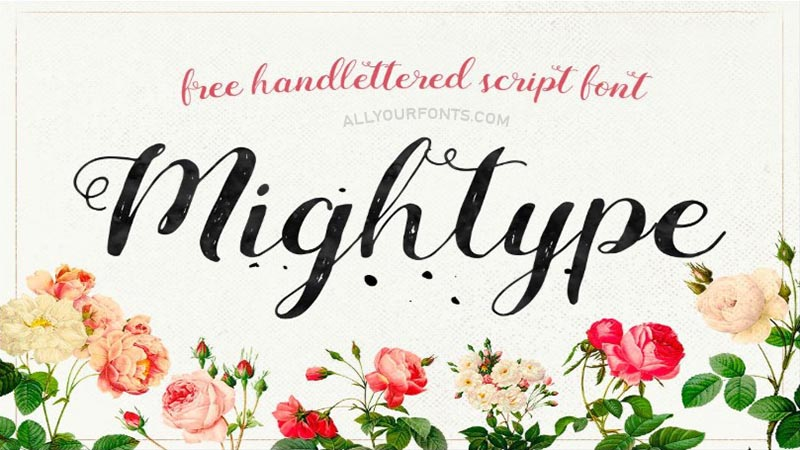 Mightype Font Family Free Download
