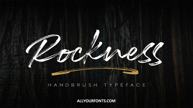 Rockness Font Family Free Download