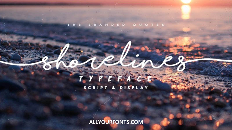 Shorelines Font Family Free Download