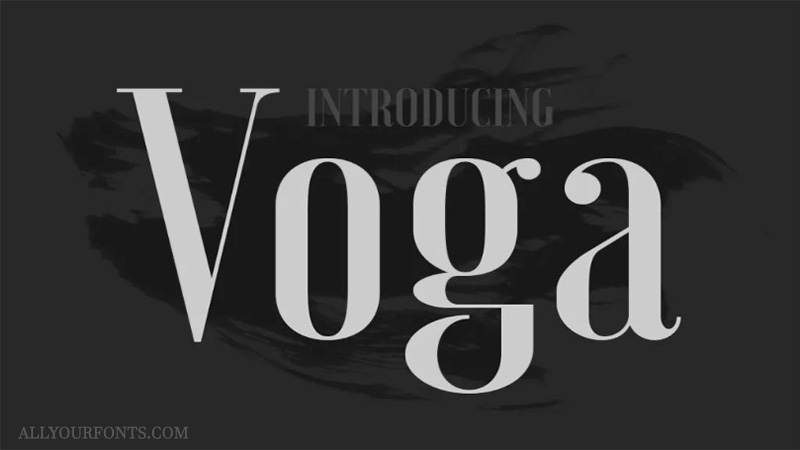 Voga Font Family Free Download - All Your Fonts