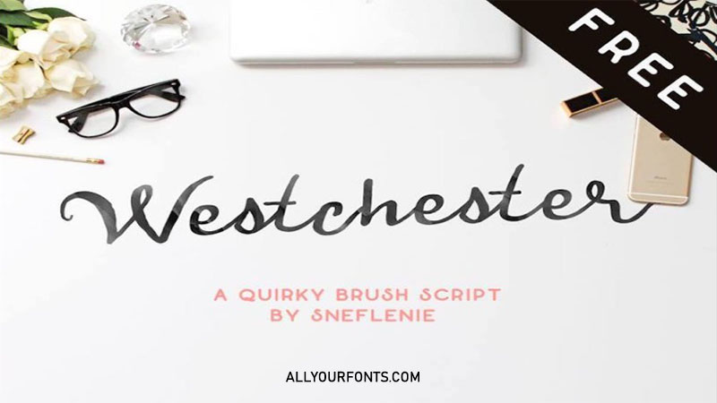 Westchester Font Family Free Download