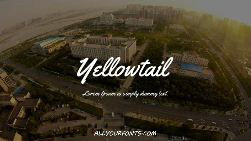 Yellowtail Font Family Free Download