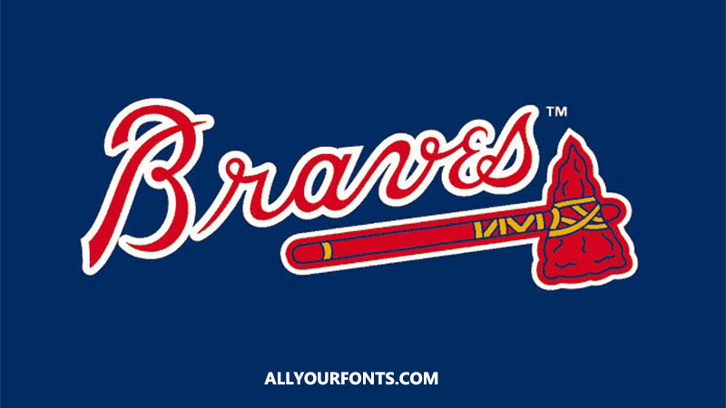Atlanta Braves Font Family Free Download