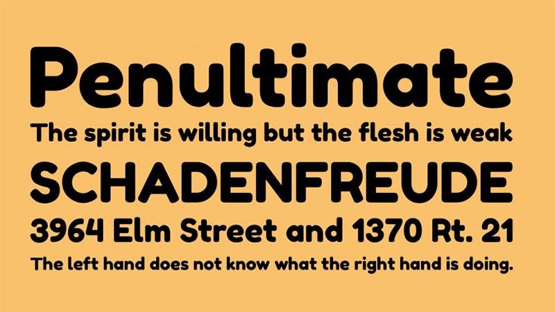 Fredoka One Font Family Download