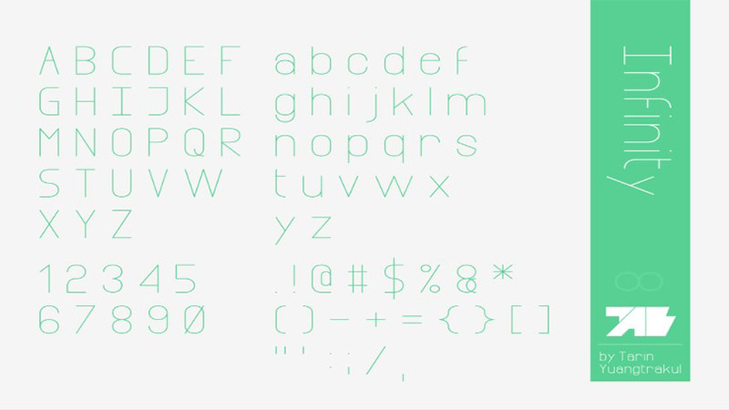 Infinity Font Family Download