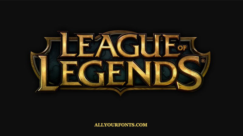 League Of Legends Font Download All Your Fonts