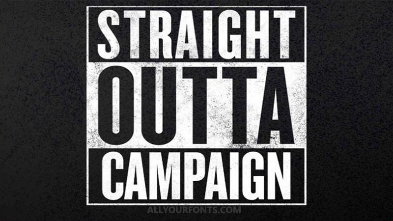 Straight Outta Compton Font Download - All Your Fonts