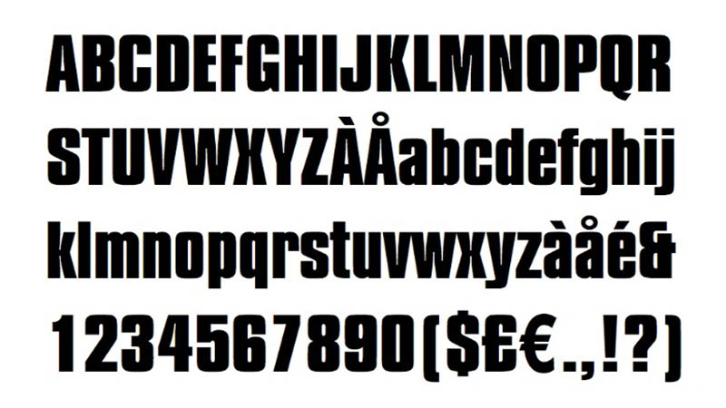 Straight Outta Compton Font Free Download