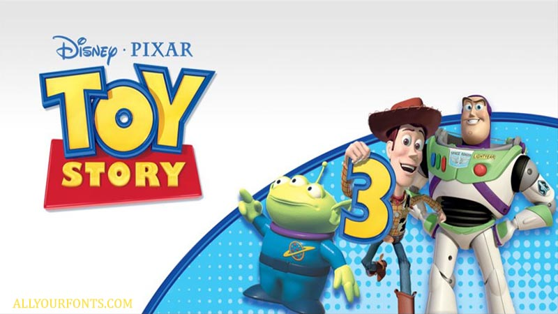 Toy Story Font Family Free Download