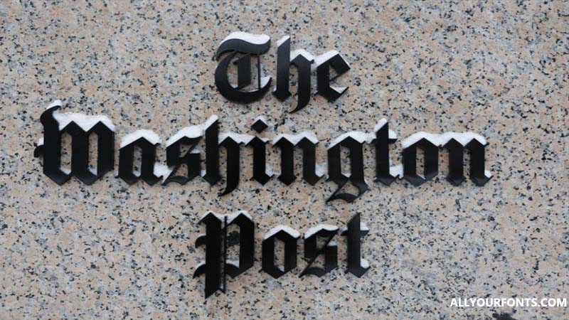 Washington Post Font Download
