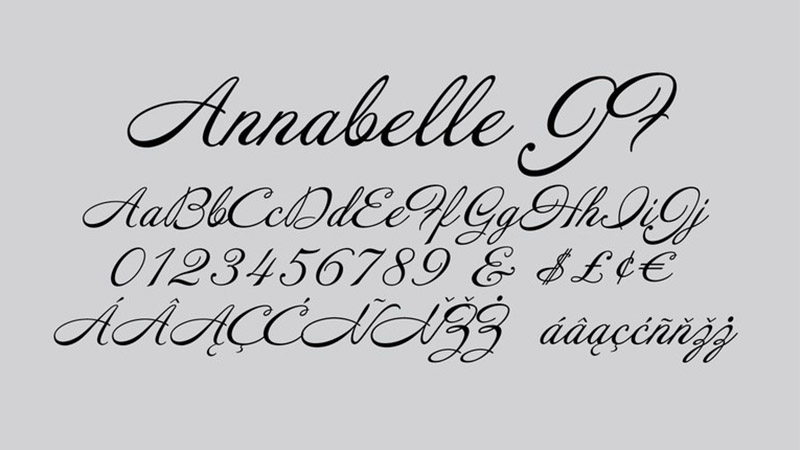 Annabelle Font Family Download