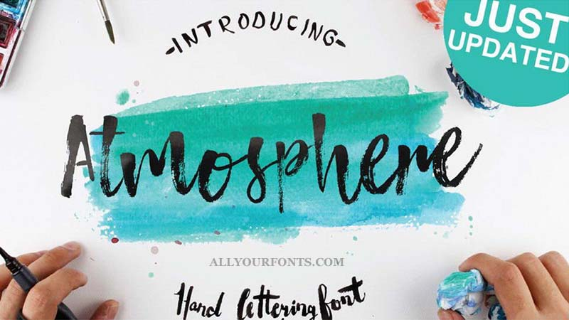 Atmosphere Font Family Free Download