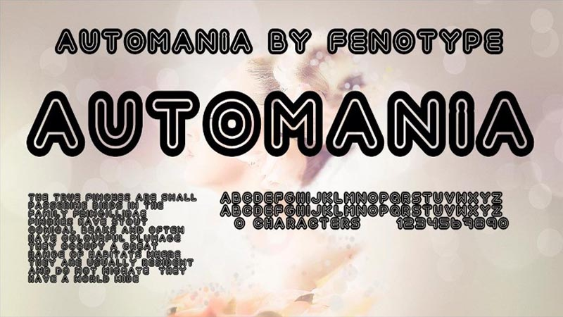 Automania Font Free Download