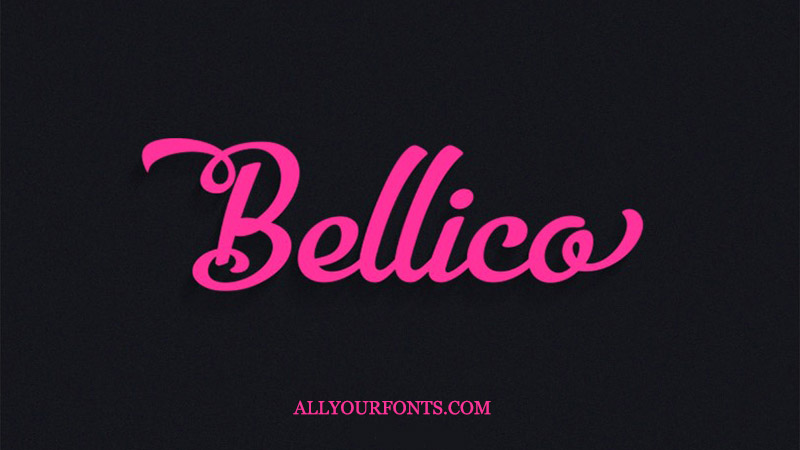 Bellico Font Family Free Download