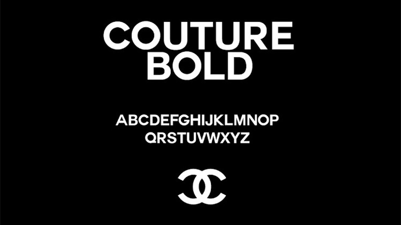 Chanel Font Free Download