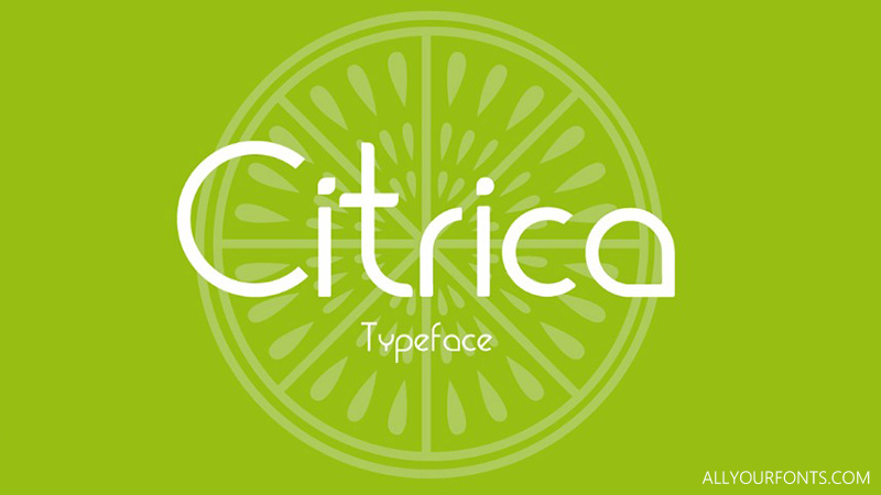 Citrica Font Family Free Download