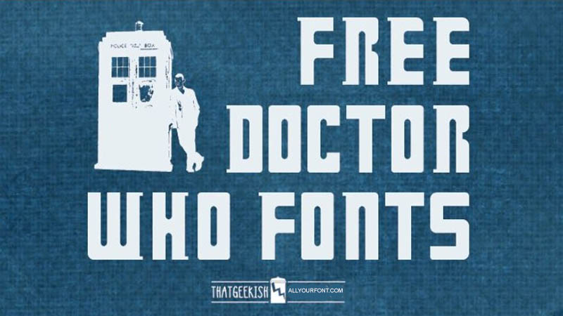 Doctor Who Font Family Download