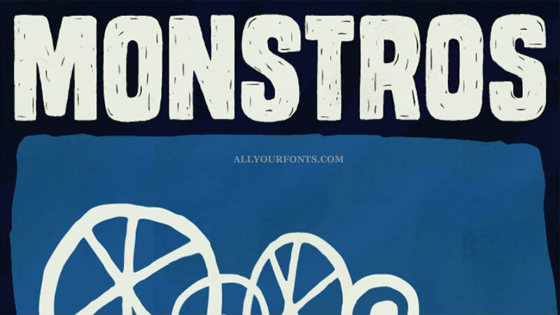 Monstros Font Family Free Download
