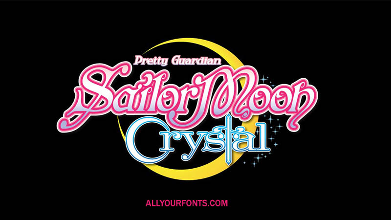 Sailor Moon Font Family Free Download