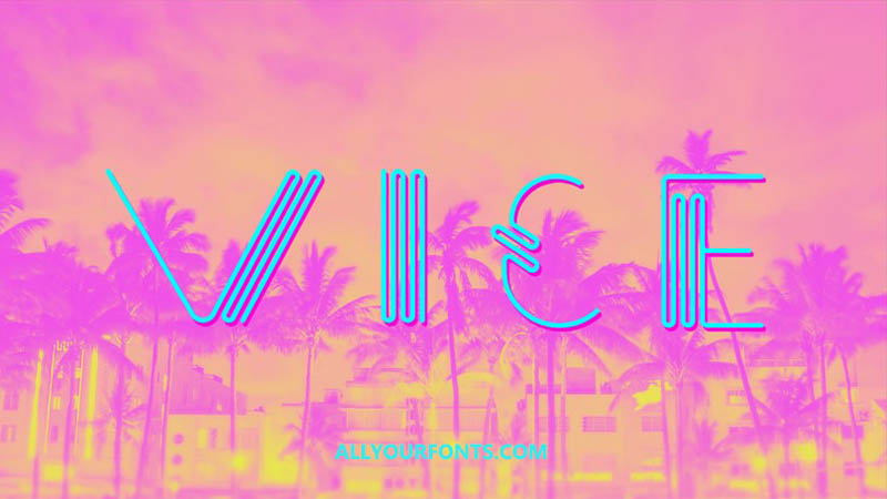 Vice Font Family Free Download
