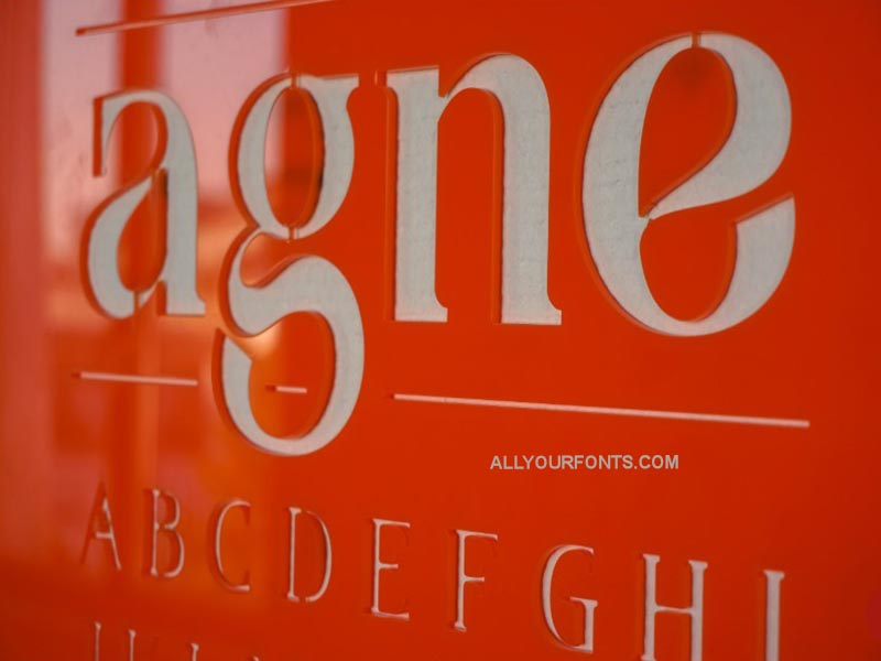 Agne Font Free Download