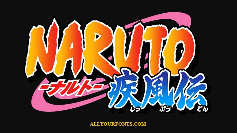 Naruto Font Family Free Download