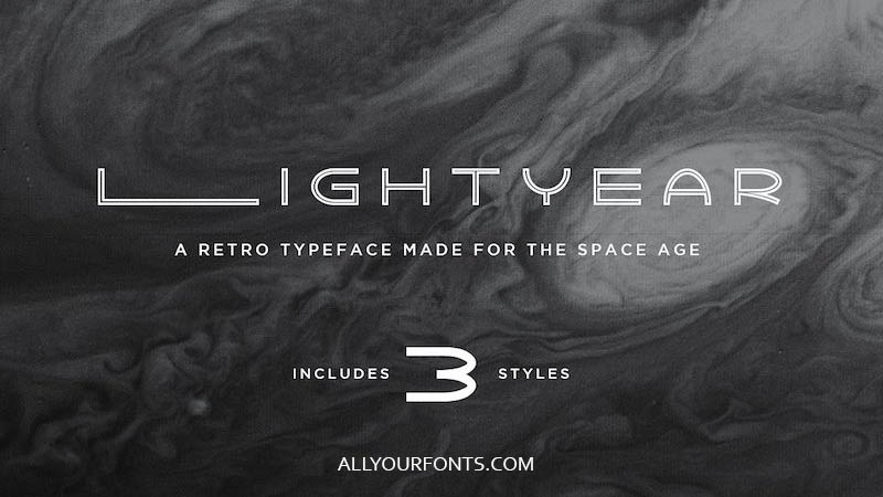 Lightyear Font Family Free Download