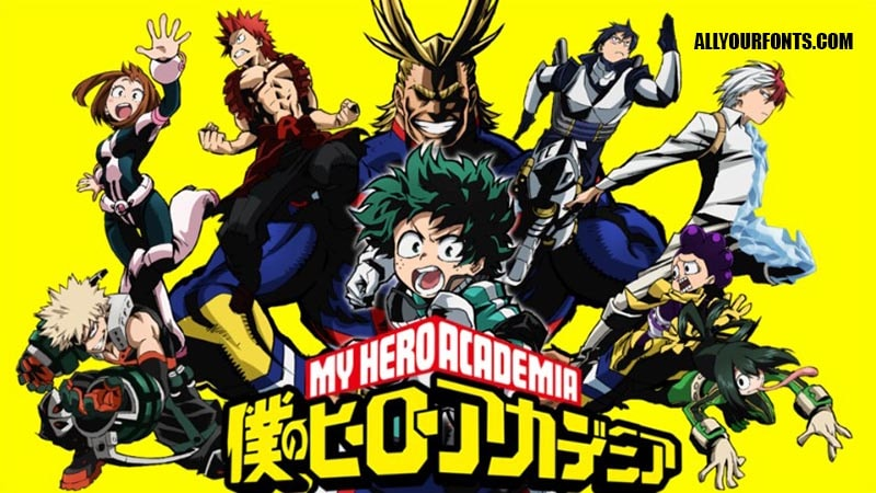My Hero Academia Font Download