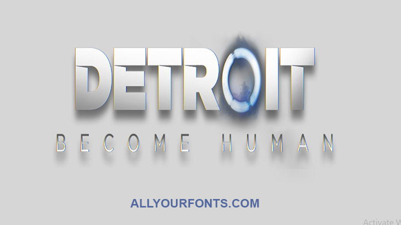 Detroit Font Family Free Download