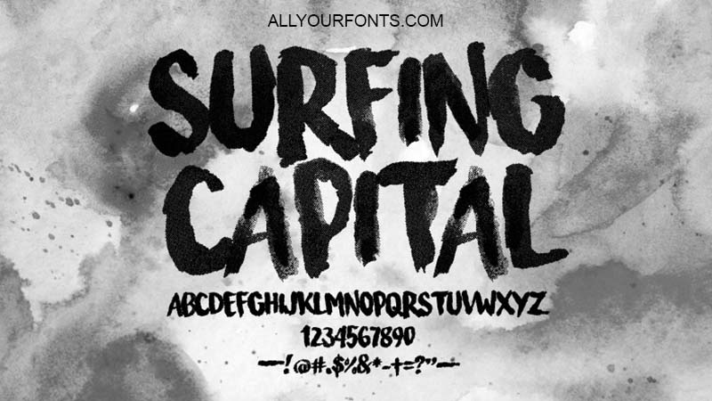 Surfing Capital Font Download