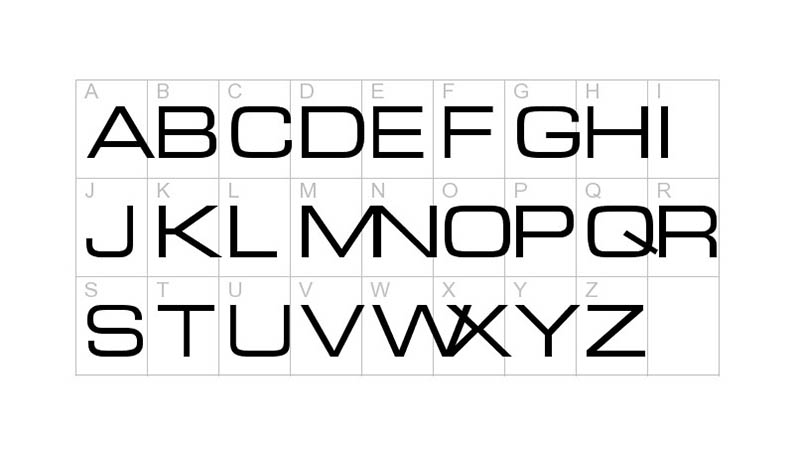 Euro Technic Font Free Download