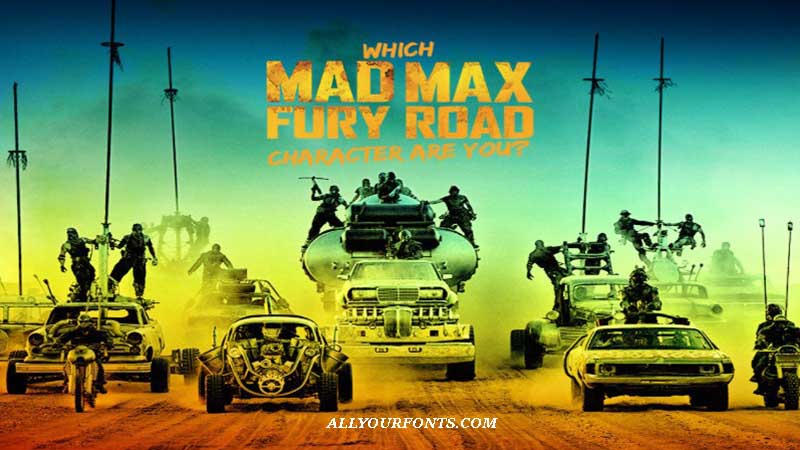 Mad Max Font Family Free Download