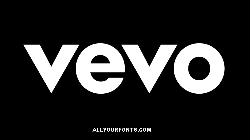 Vevo Font Family Free Download