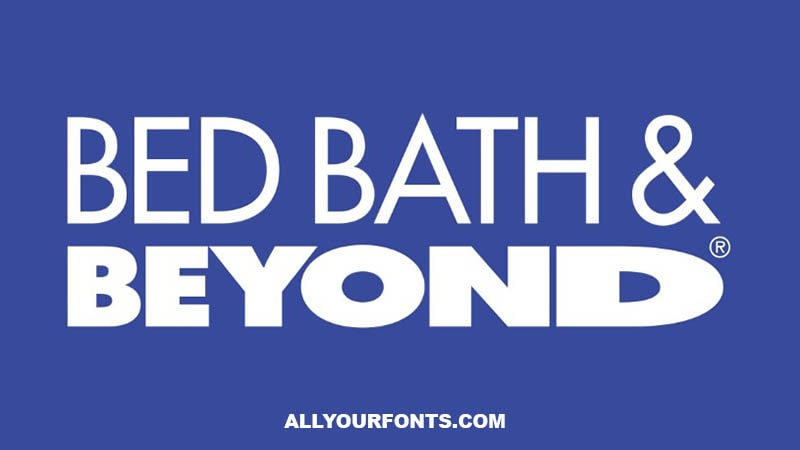 Bed Bath and Beyond Logo Font Family Free Download