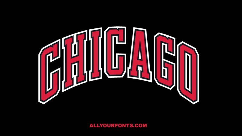 Chicago Bulls Font Family Free Download