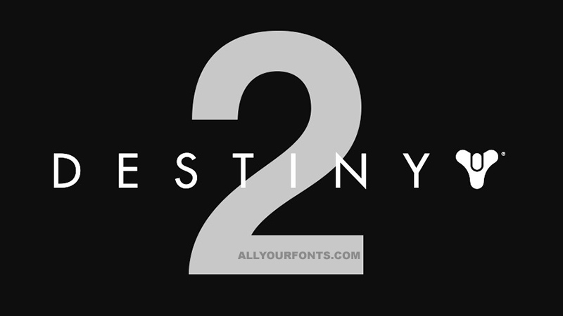 Destiny 2 Font Family Free Download