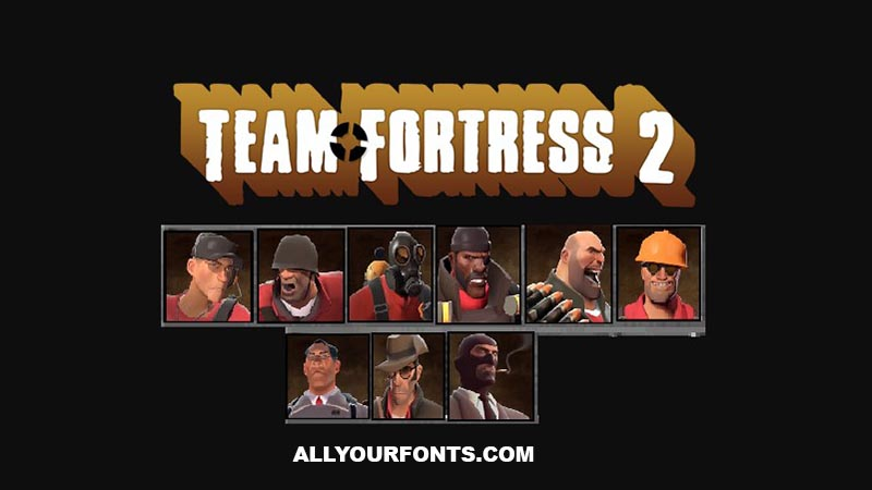 Team Fortress 2 Font Family Free Download