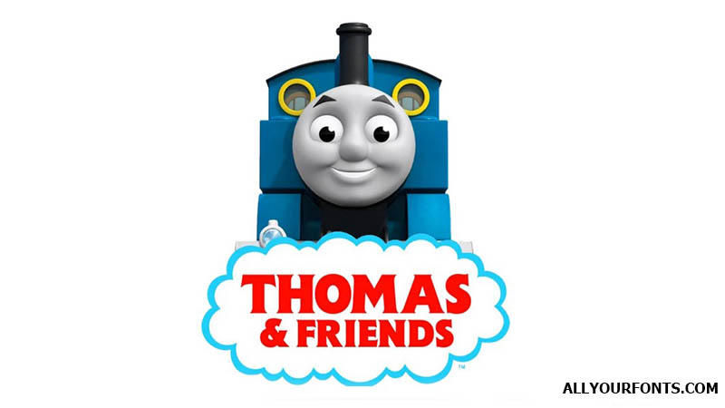 Thomas and Friends Font Family Free Download