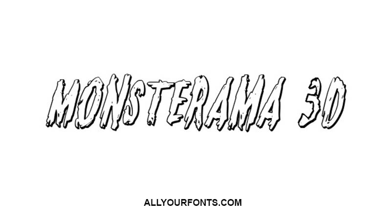 Monsterama Font Family Free Download