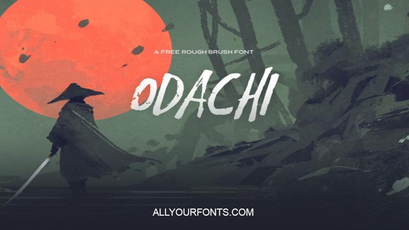Odachi Font Family Free Download