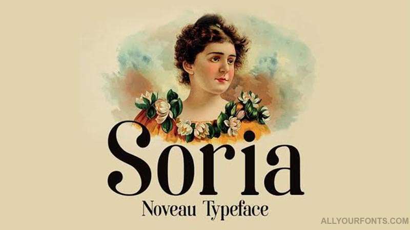 Soria Font Family Free Download